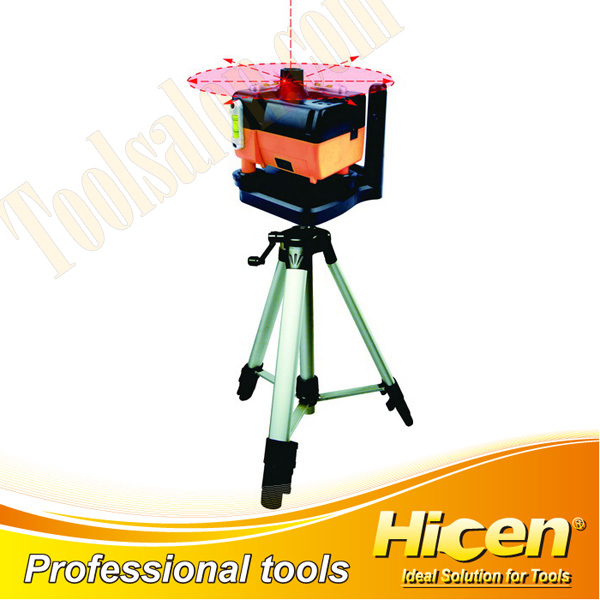 Rotary Laser Level With Aluminum Tripod