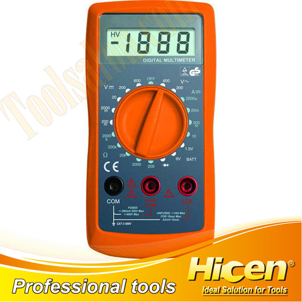 Protable LCD Digital Multimeter DC/AC