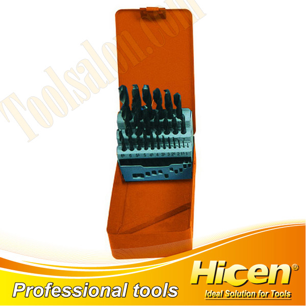 25pcs Twist Drill Set, Woodworking Bit