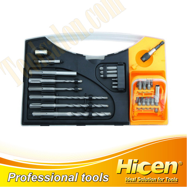 31pcs Screwdriver Bit & Power Drill Set