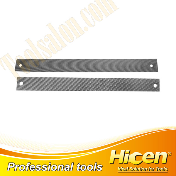 Aluminum Flat Steel Files with Double Hole