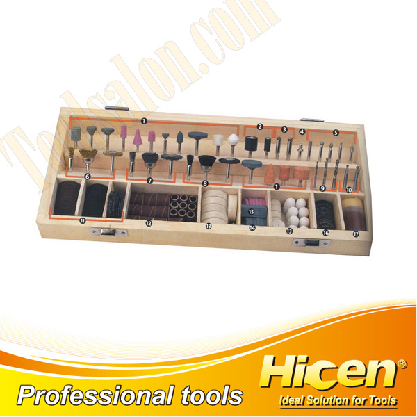 229 PCS Grinding & Polishing Set, Abrasive Kit