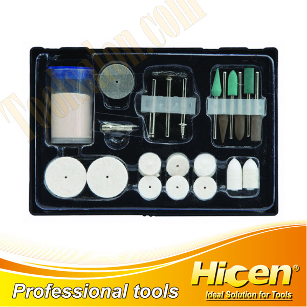 22 PCS Mini Tools Accessory Set, Brush and Wheel Set, Grinding & Polishing Set, Abrasive Tool Set