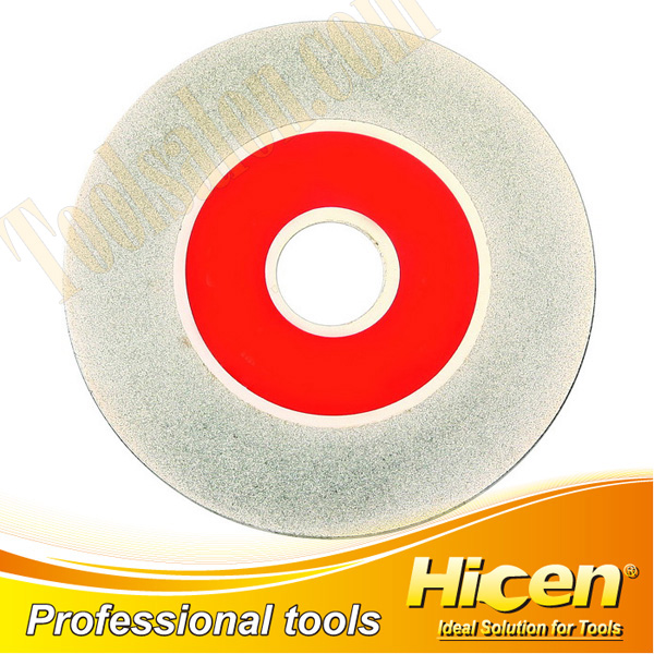 Diamond Cut-off & Grinding Wheel with Chrome Plated