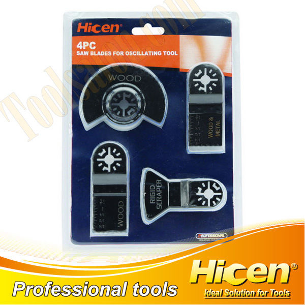 4pcs Saw Blade for Oscillating Tool