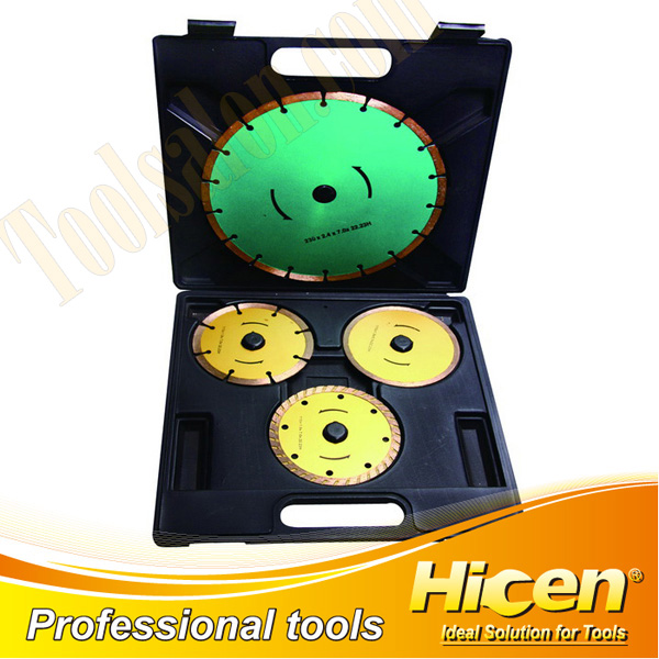 4pcs Diamond-cutting Discs Set