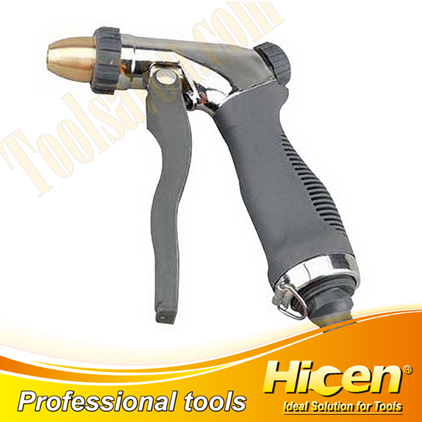 Adjustable Chrome Plated Metal Spray Gun