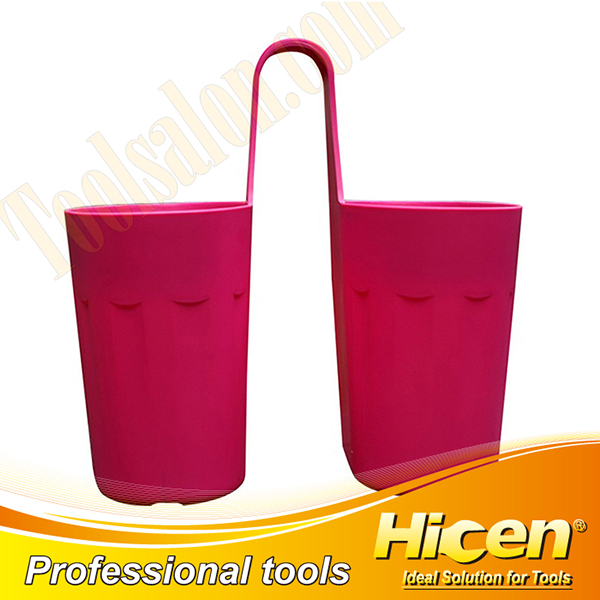 New PP Double Decorative Flower Pots with Hanging Hook