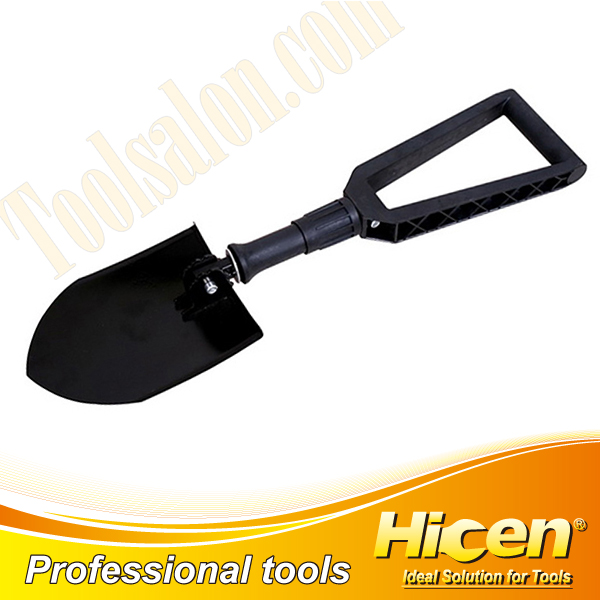 Carbon Steel Folding Garden Shovel with Nylon Handle
