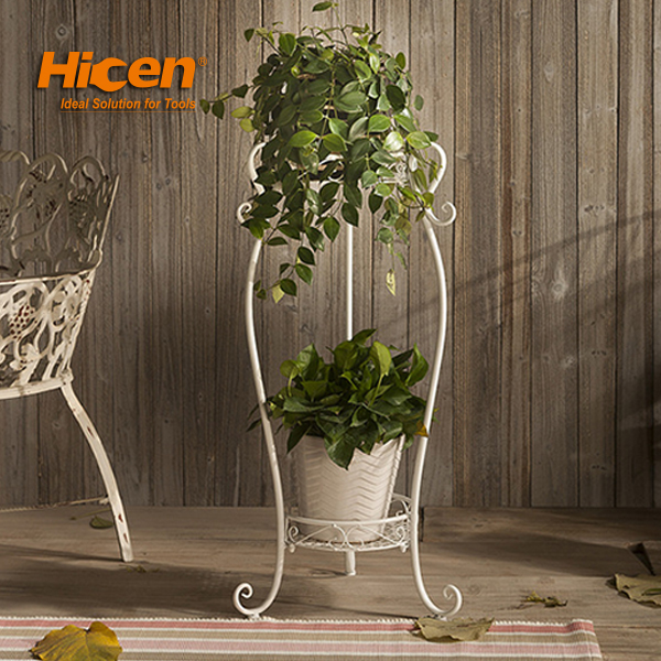 Hot Sale Iron Flower Stand, Metal balcony Stand