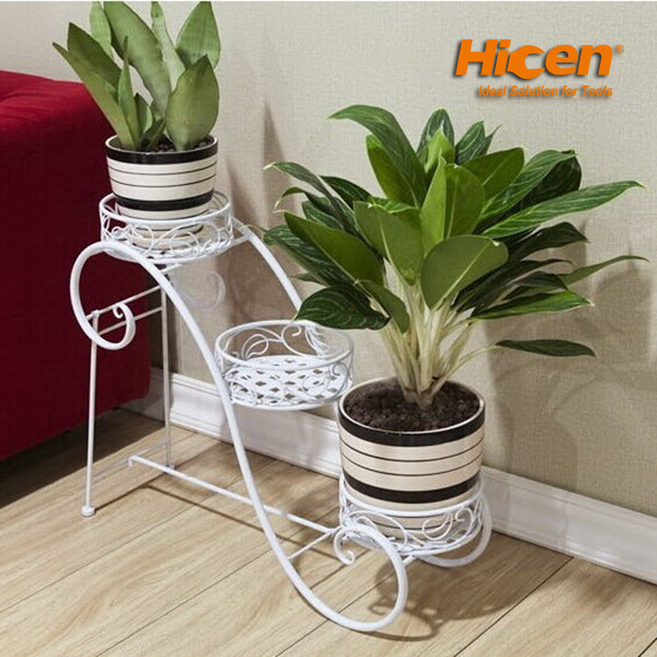 Outdoor Garden Metal Flower Pot Stand