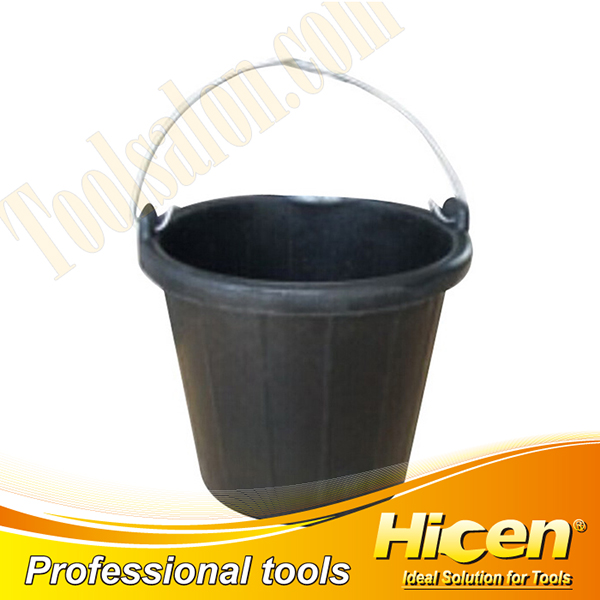7.5L Rubber Bucket