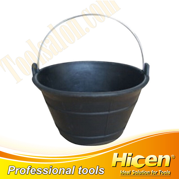 10L Rubber Bucket