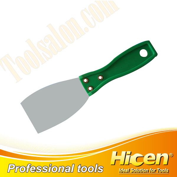 Good Elasticity Stainless Steel Putty Knife with ABS Handle