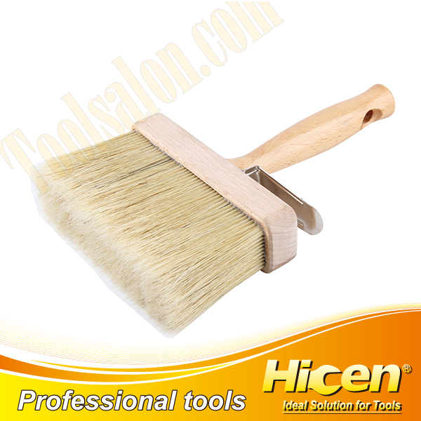 Paint Brush with Wooden Handle and Wooden Ferrule