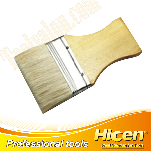 Painting Brush with Flat Handle