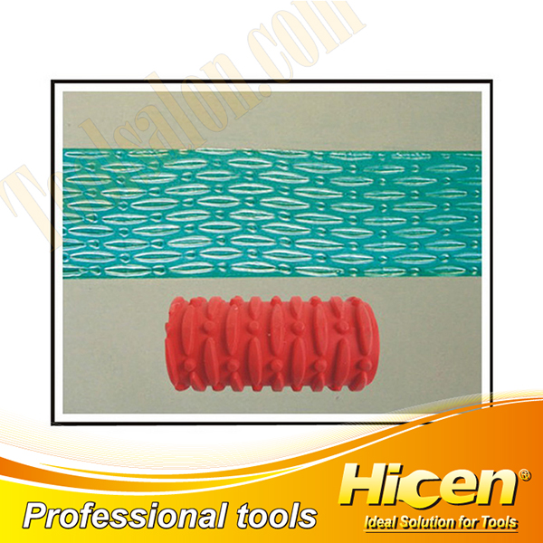Decorative Roller with High Quality Rubber