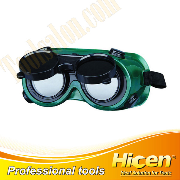 Flip Design Round Safety Welding Goggles