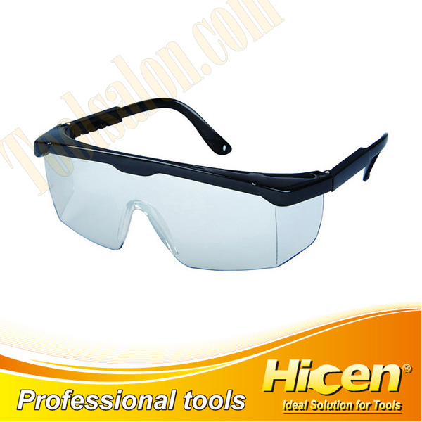 Transparent PC Lens Adjustable PA Frame Safety Glasses