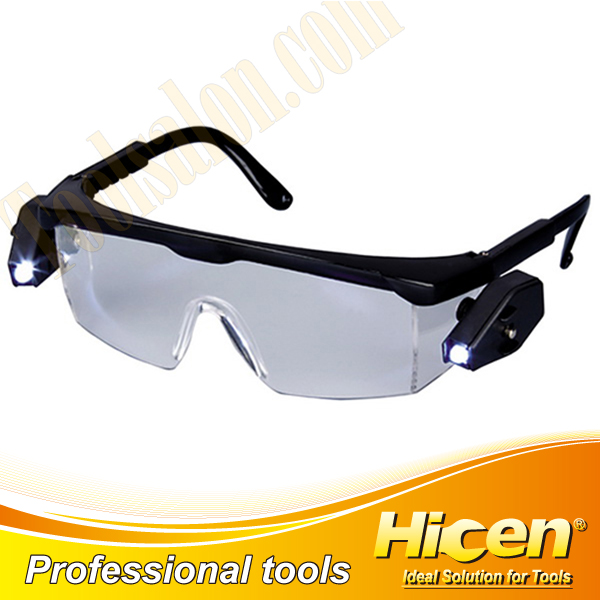 CE Approved LED Light Safety Glasses