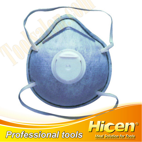 Active Carbon Disposable Paper Dust Mask with Breathing Valve