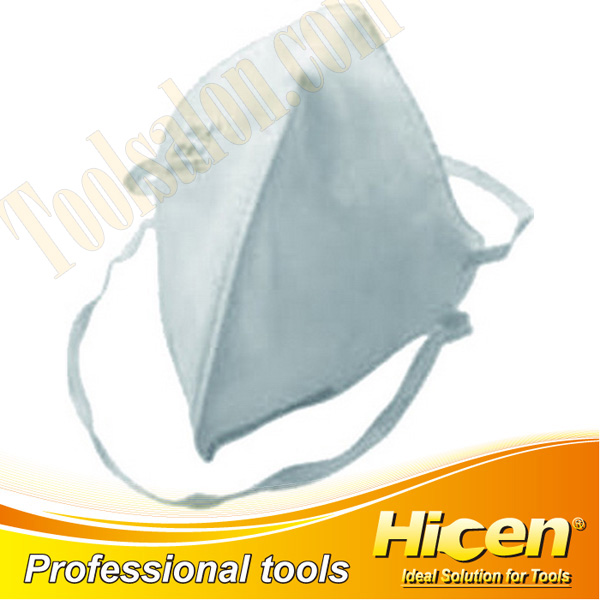White Non-woven Cloth Low Breathing Resistance Dust Mask