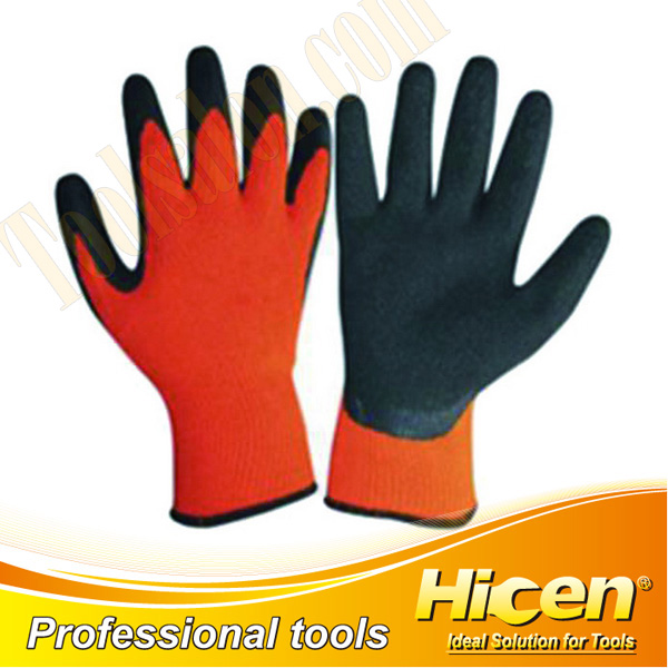 High Quality Nylon Coated Knit Wrist Working Gloves