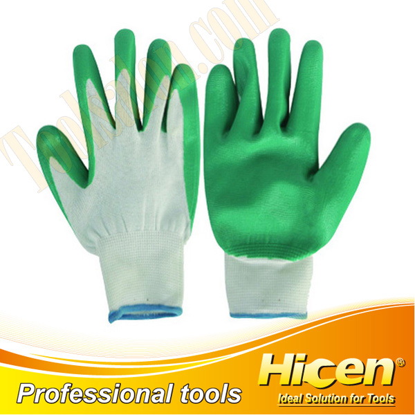 CE Approved Latex Coated Working Gloves
