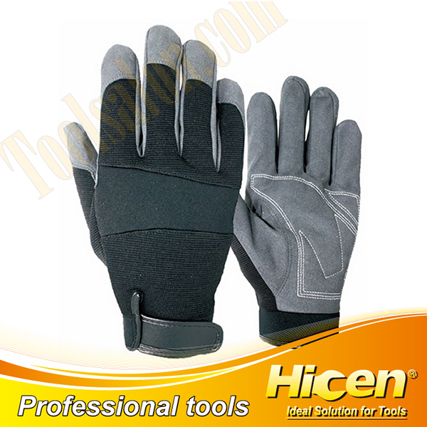 PU Impregnated Leather Cold Resistant Gloves