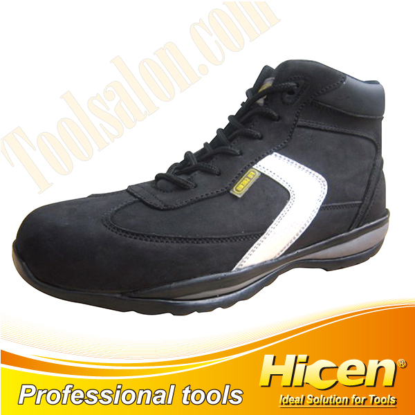 High Quality Crazy Horse Leather Safety Shoes
