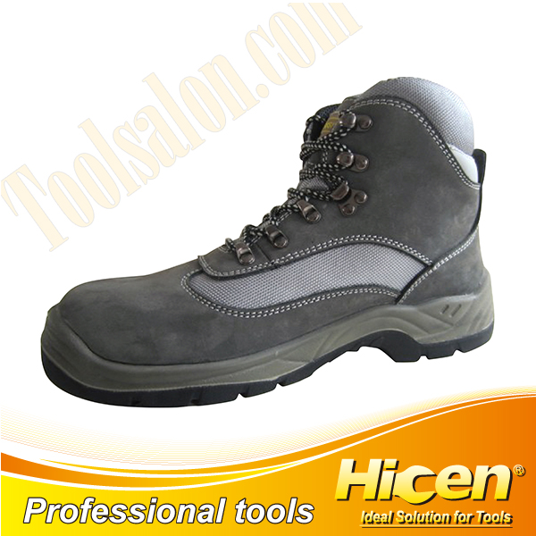 Nubuck Leather Waterproof Safety Shoes