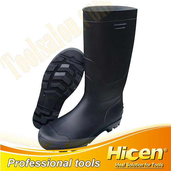 CE Approved Black Light Duty PVC Safety Boots