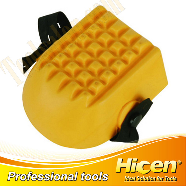 Yellow PU Knee Protection Pads