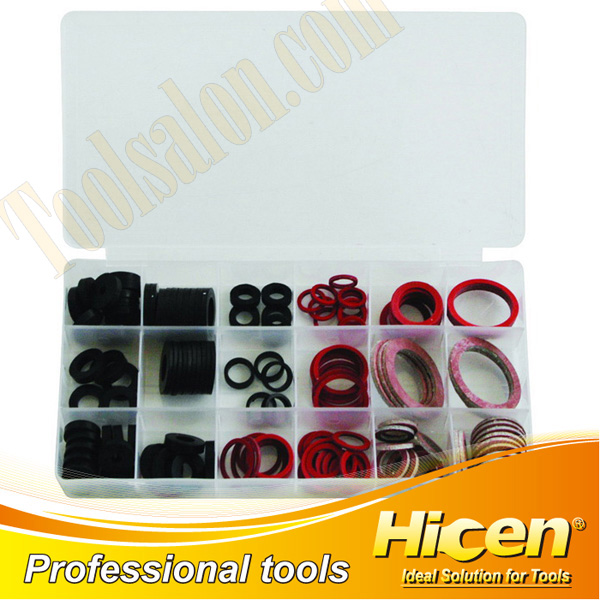 141pcs Rubber Sealing Washer Assortment