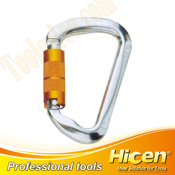 Screw Lock Climbing Carabiner