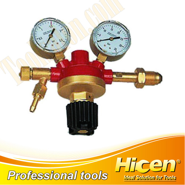 Brass Acetylene Decompression Gauge