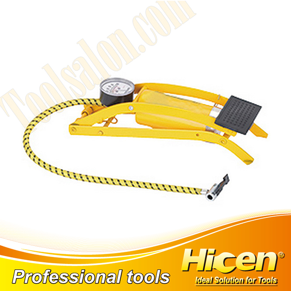 Yellow High Quality Foot Pump