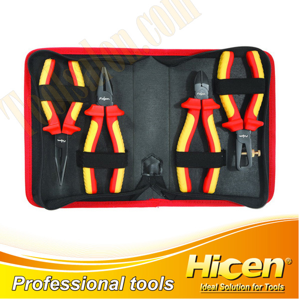 4 Pcs Insulated VDE Pliers Set
