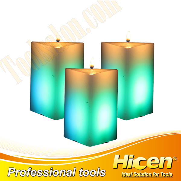 Non-toxic Wax LED Candles For Home Decoration