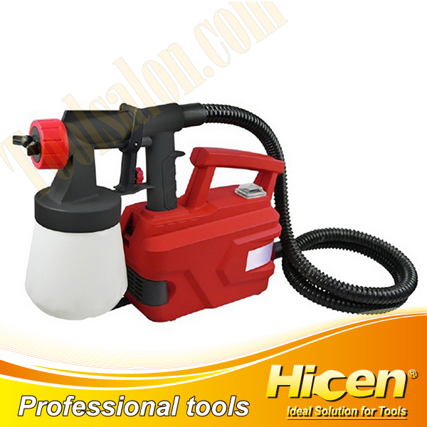 Floor Based Low Vibration And Low Sound Spray Gun