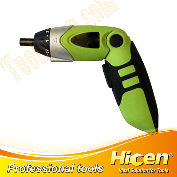 Portable 4.8V Rechargeable Electrical Screwdriver with LED