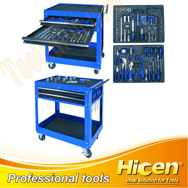 132 PCS Combined Tool Cart