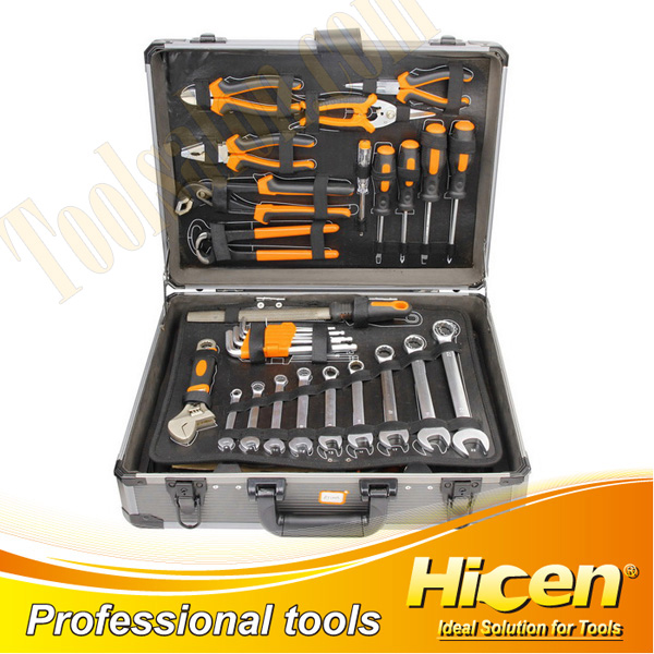 120 PCS Aluminum Tool Box Kits
